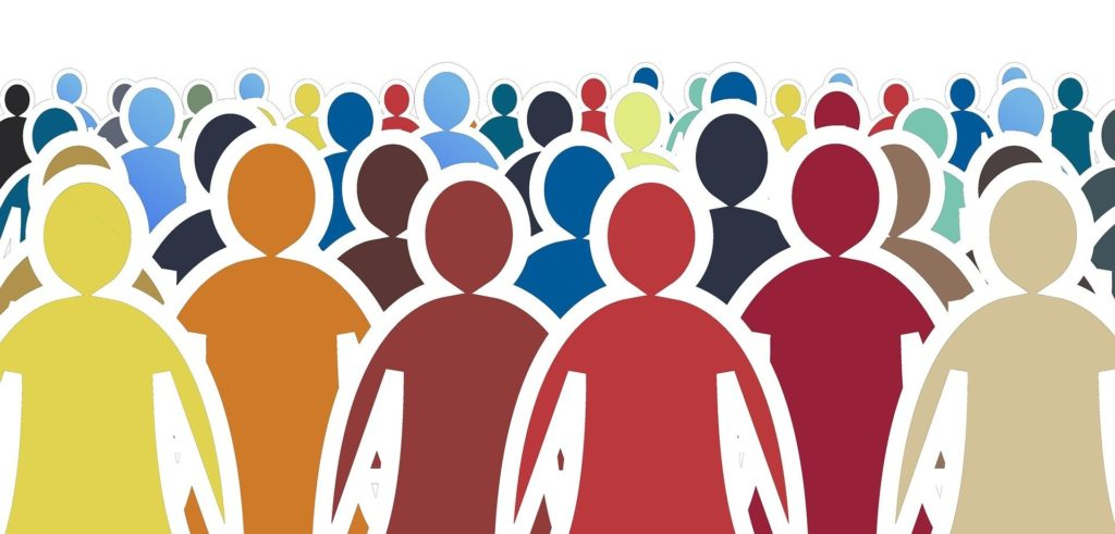 folla colorata