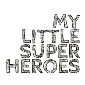 Logo My little super heroes