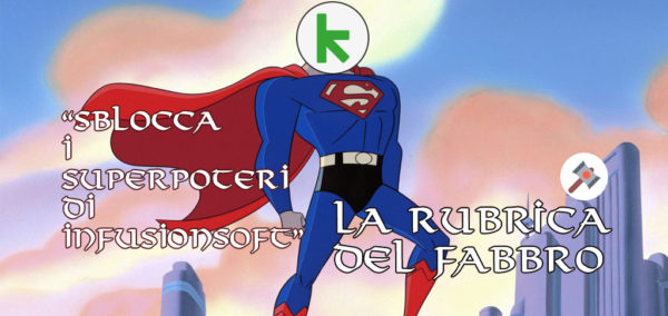 super man con logo infusionsoft